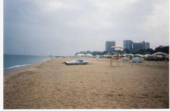 Golden Sands Central Beach