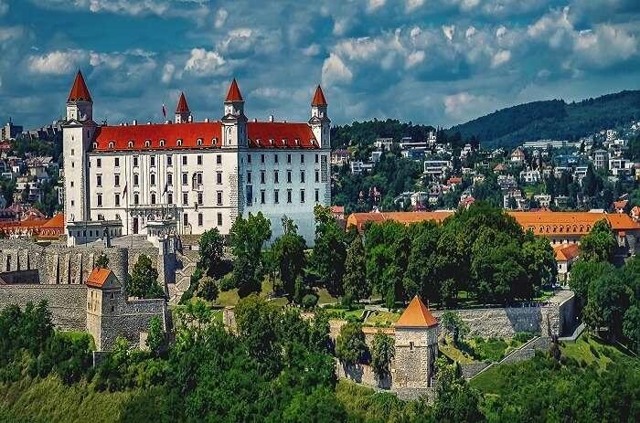 History Of Bratislava Castle