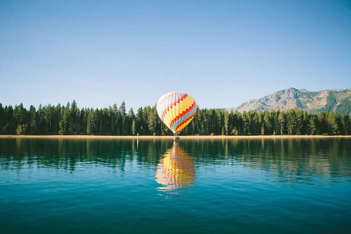 Hot Air Ballooning in J And K