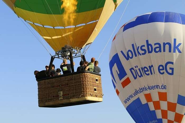 Balloon Ballooning Hot Air Balloon Ride