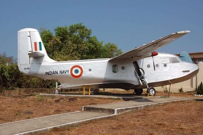 aircraft at naval museum