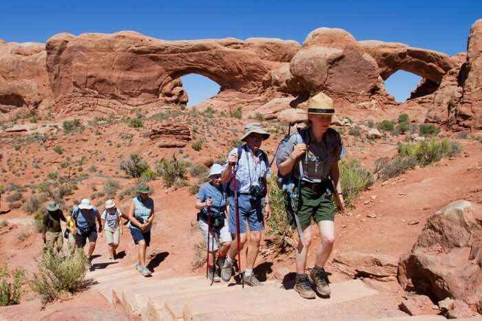 Join a guided walk