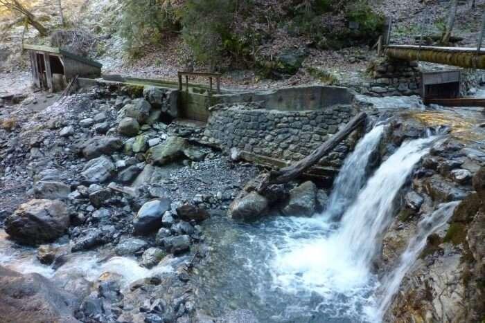 Kleinst-Wasserkraftwerk