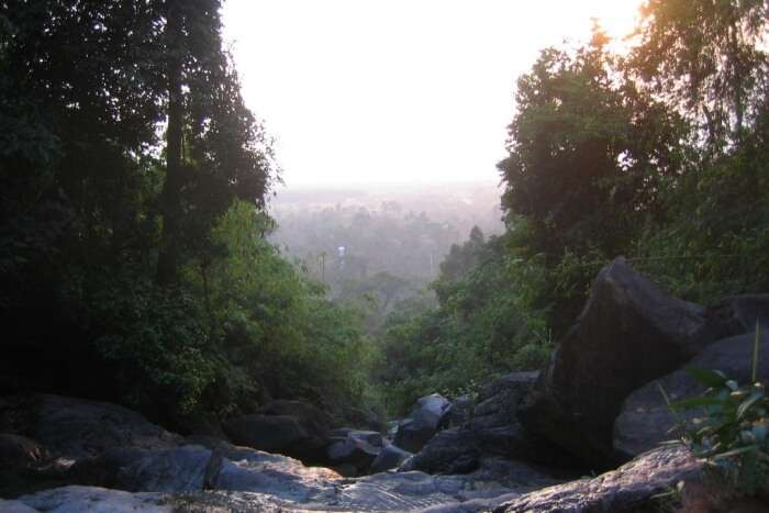 Krathing Waterfall