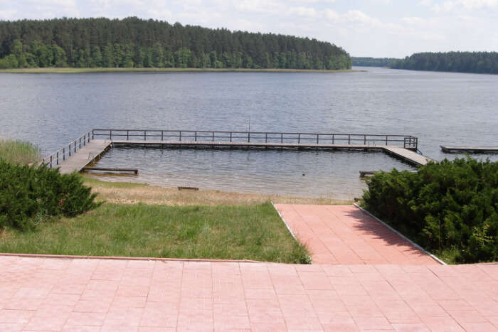 Lake Orzysz iin Poland