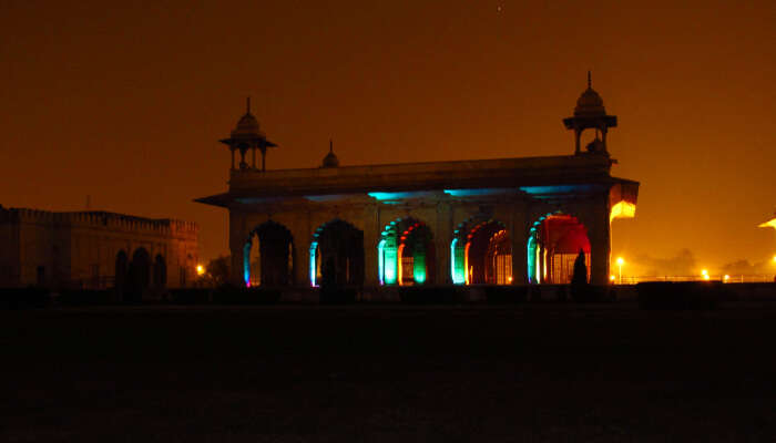 Light And Sound Show, Red Fort