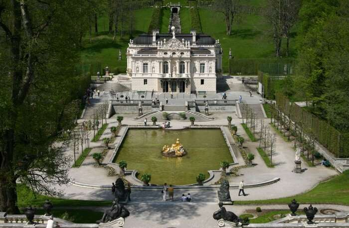 Linderhof Castle in Munich