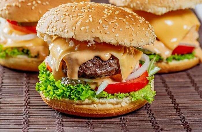 Crispy burger