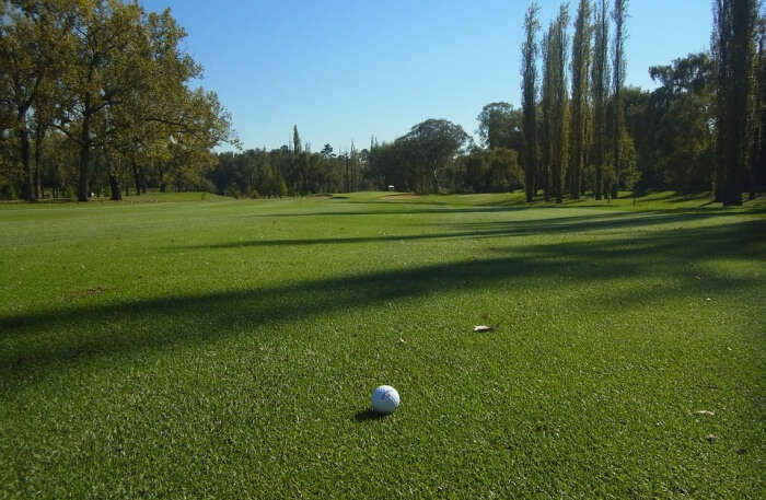 Golf ground