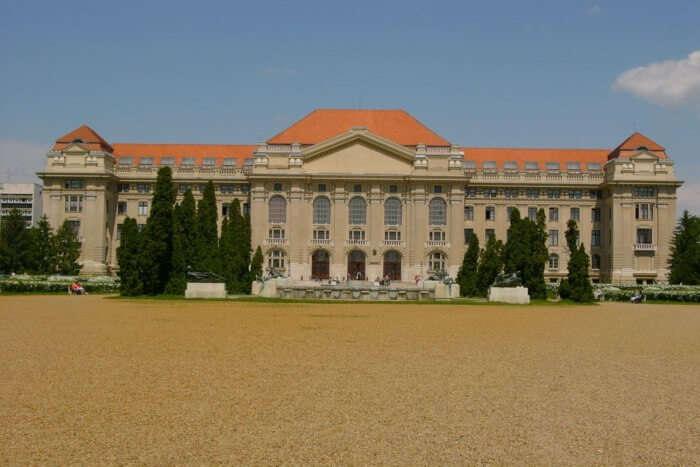 Main Building Of University Of Debrecen