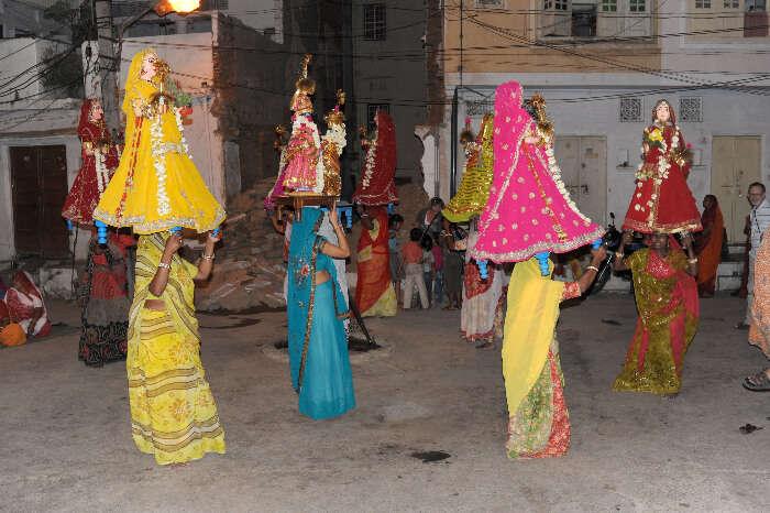Mewar Festival in Mewar