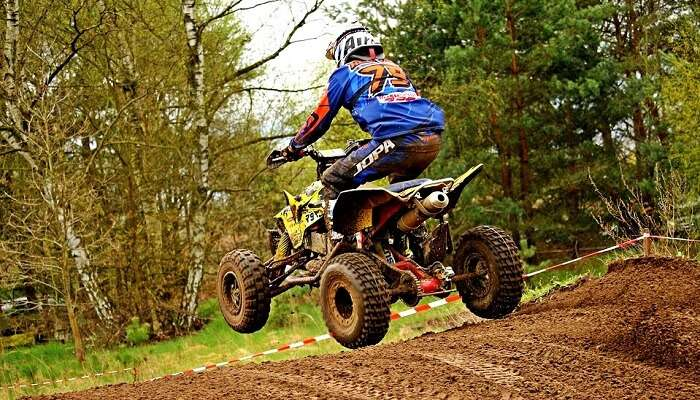 Motocross Quad Atv Motocross Ride Race Motorcycle