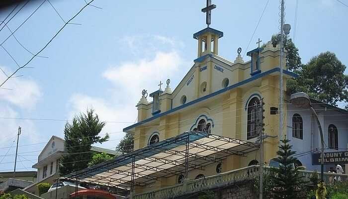 Munnar Mount Carmel Church 1/11/19