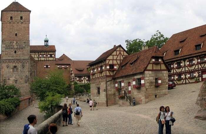 Nuremberg Castle in Munich