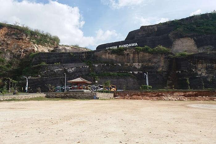 famous beach in Nusa Dua
