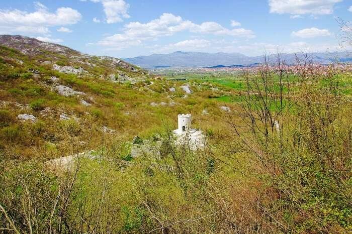 Pandurica Castle Ruins