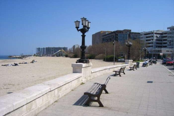 Pane e Pomodoro Beach