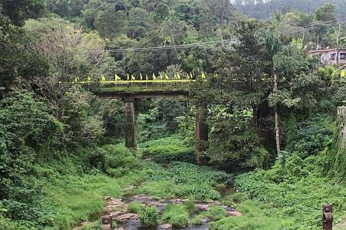 famous bridge in peermade