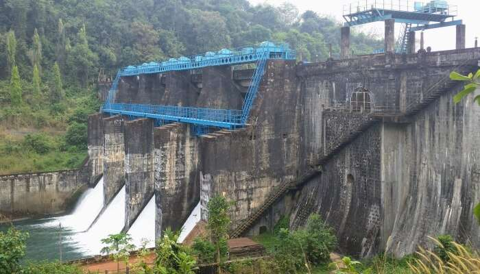dam over a river