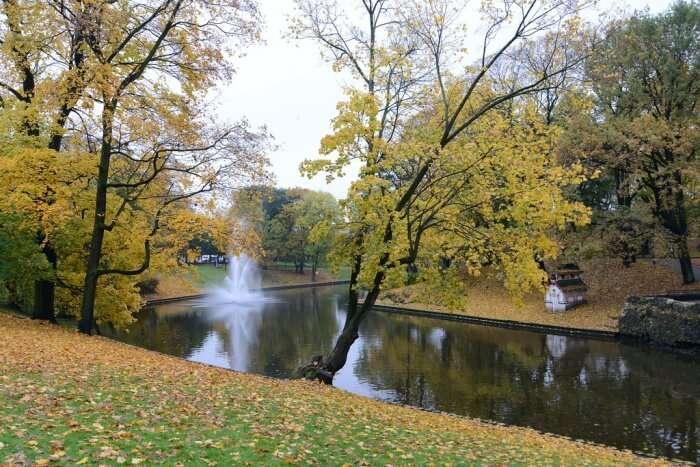Riga's Bastejkalns Park