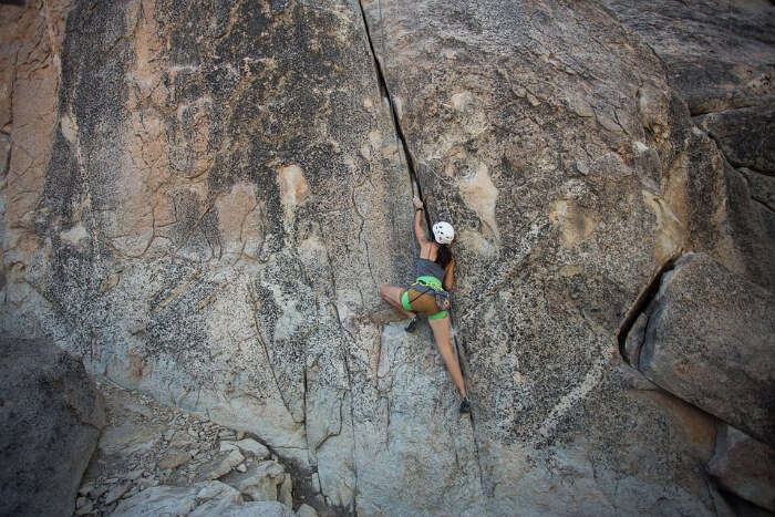 Rock Climbing in Satpura