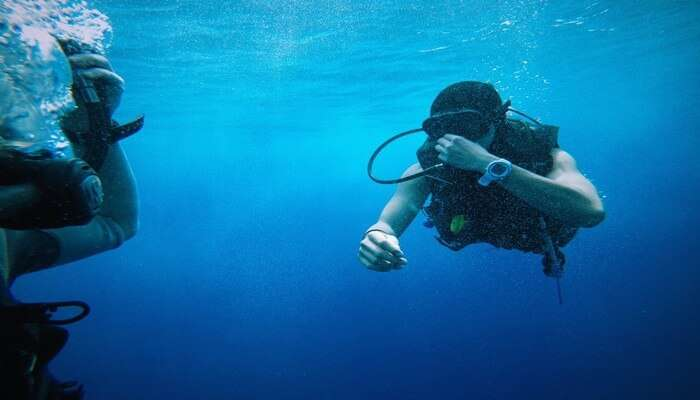 Beginner Scuba Divers