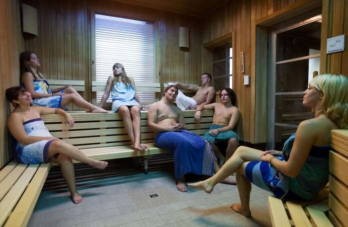 A Sauna in Munich