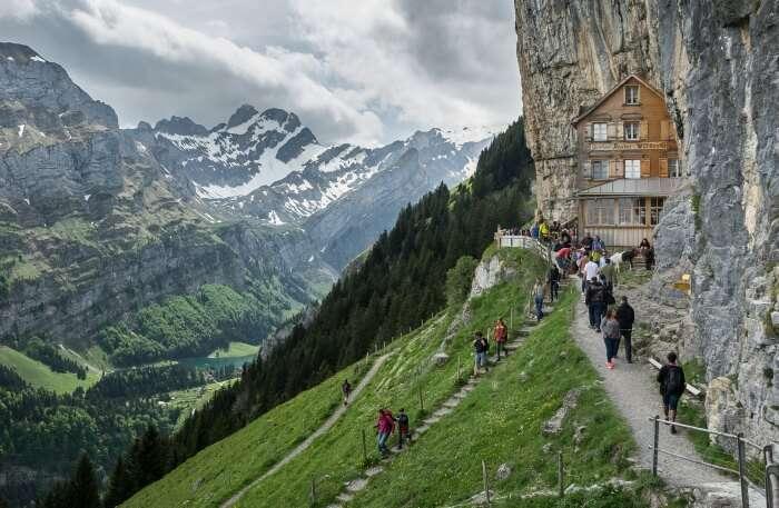 Schweizerland Alps Traverse