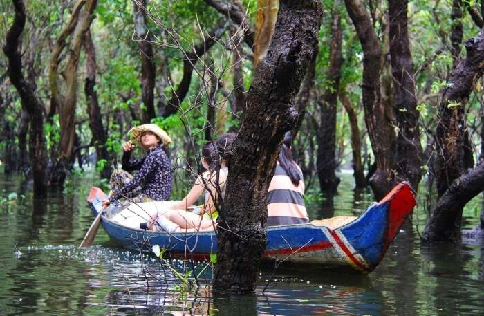 Siem Reap Kayaking
