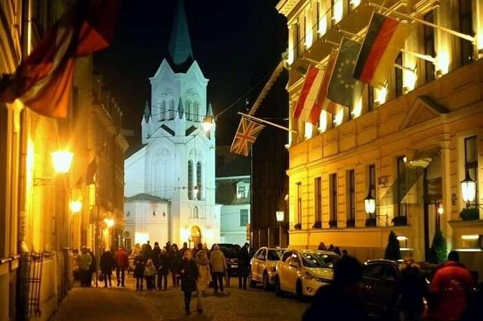 Staro Riga Light Festival