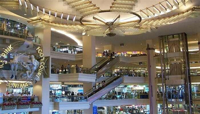 famous mall in Jakarta