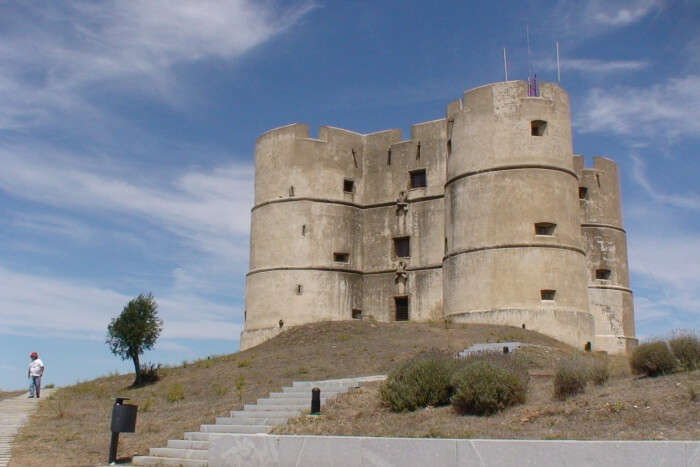 The Castle of Evoramonte