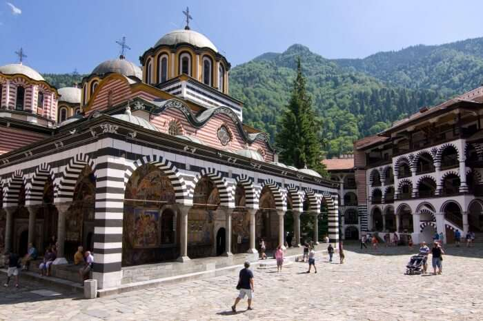 The Rila Monastery and the Rila Mountains
