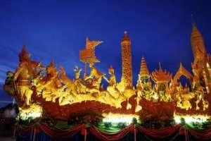 wax sculpture parade