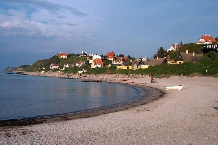 famous beach in Denmark