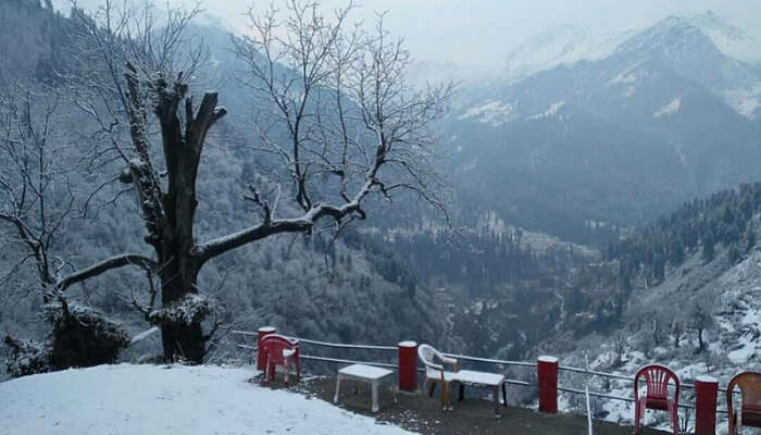 Tosh Village During Winters