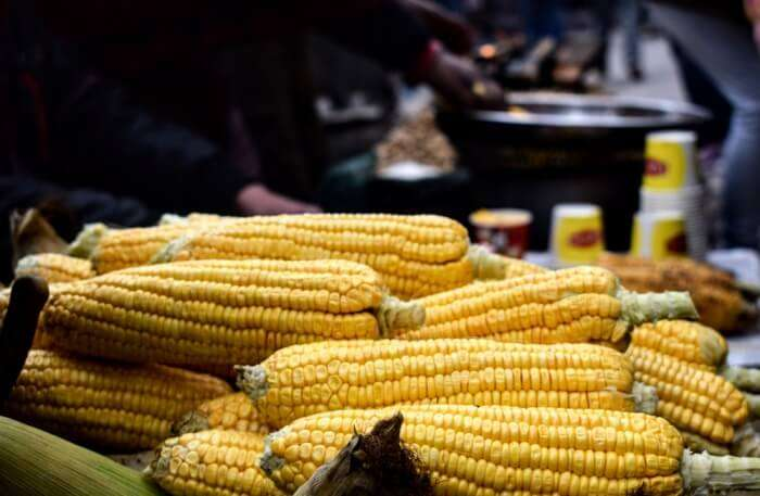 Corn in markets