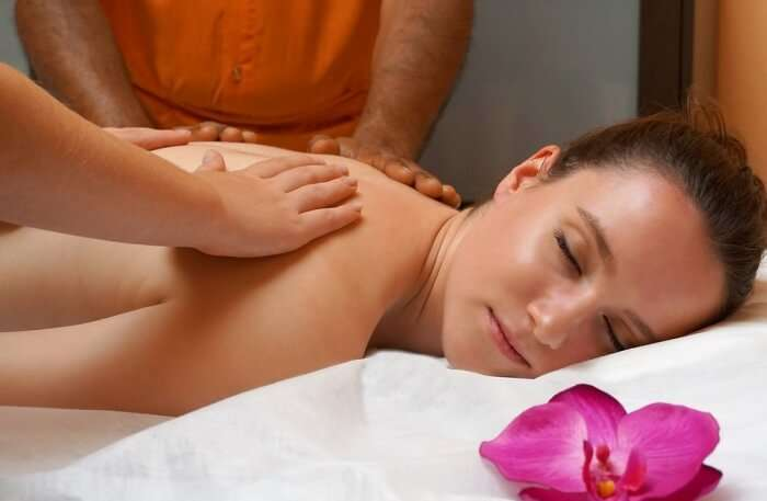Treat yourself at the spa