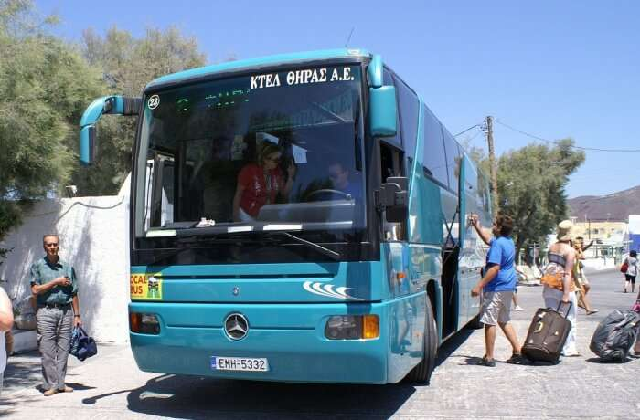 Use the KTEL bus network for travelling