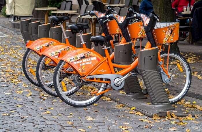 Vilnius City Bike Tour