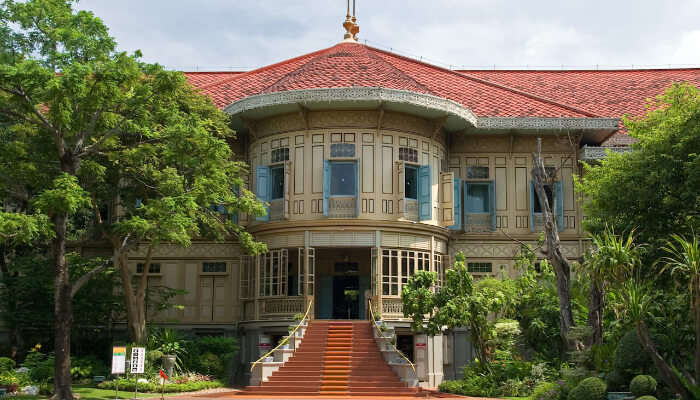 Vimanmek mansion in Bangkok