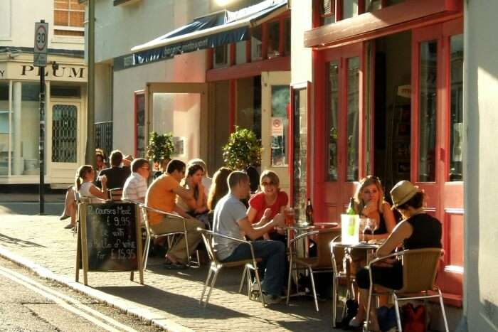 Visiting Bars And Restaurants