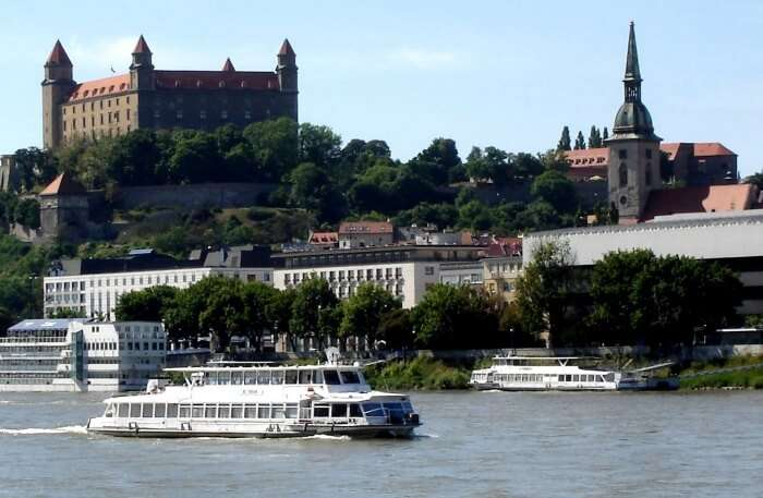 Walking Around Danube River