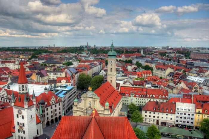 Weather During Autumn In Munich