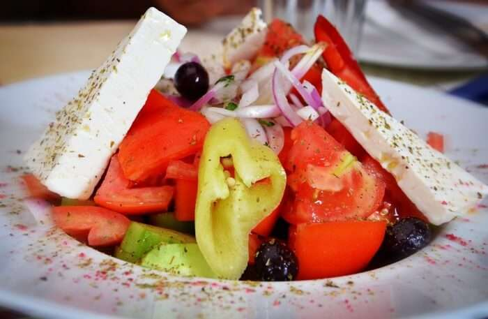 Healthy Greek Salad Food Salad