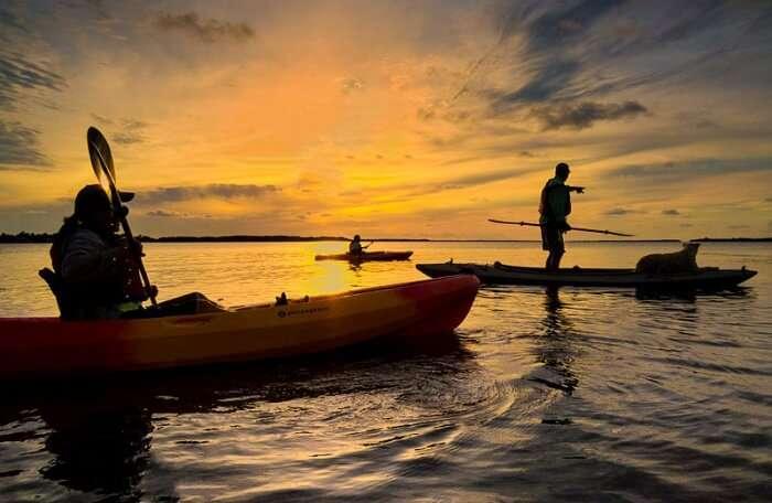Winter Park Sunset Kayaking Tour