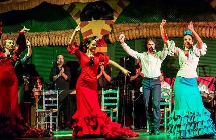 Witness the Flamenco Show