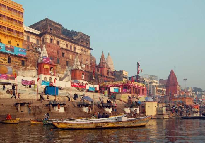 view of ghat by ahilyabai