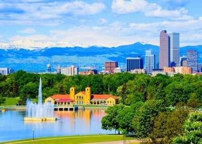 View of Denver city