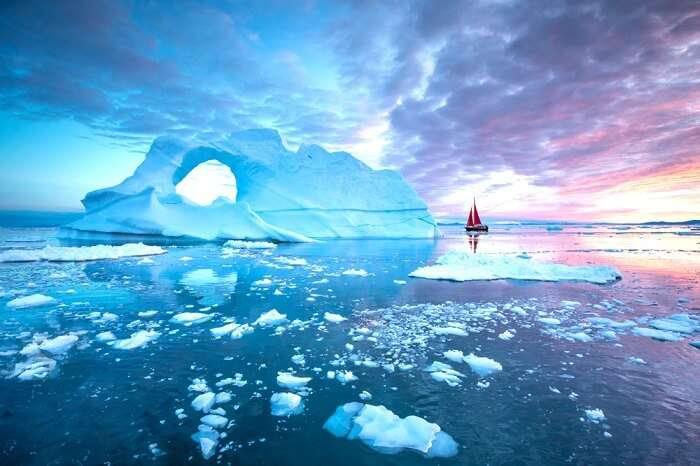 Fabulous Greenland In Summer